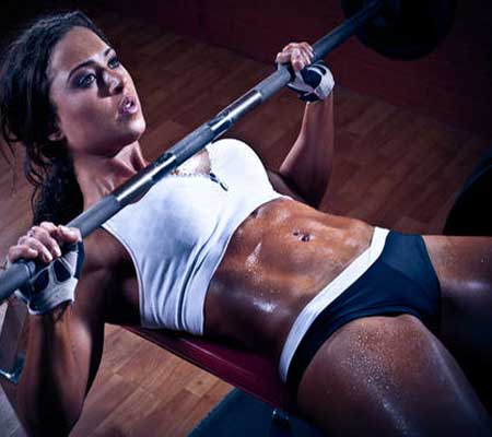 Bench Press Exercise for Breast Enlargement