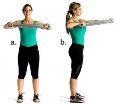 Chest Contractions Exercise for Breast Enlargement