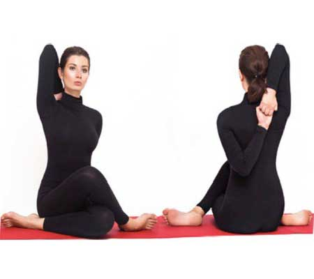 Gomukhasana Exercise for Breast Enlargement