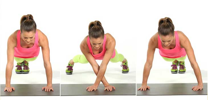 Plank Walk Exercises
