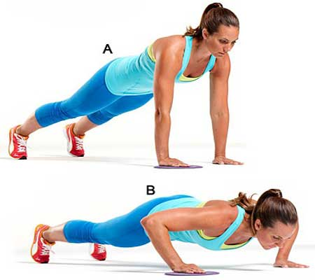 Push Ups Exercise for Breast Enlargement