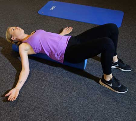 Shoulder Rounding Exercise for Breast Enlargement