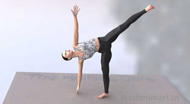 Ardha Chakrasana Exercise for Breast Reduction