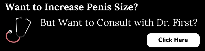 increase penis size?