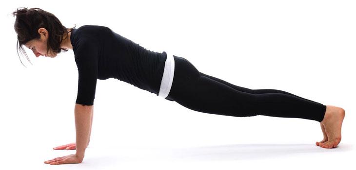 Kumbhakasana or Plank Pose