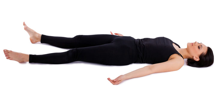 Shavasana or Corpse Pose