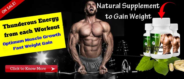 Natural Supplement to Gain Weight